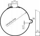Opaska do rur spustowych 100-120mm DEHN (3)