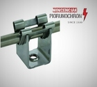 Wspornik DEHNgrip, wys. 20 mm, M6, stal nierdzewna